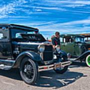 Model T Fords Poster by Steve Harrington