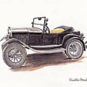 Model T.  Poster