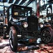 Model T In Hdr Poster