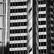Modern Buildings Abstract Architecture Poster