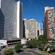 Modern Buildings In Central Rio De Poster