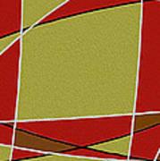 Modern Curve Oil Poster