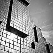 Modern Glass Building Poster