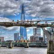 Modern London Poster