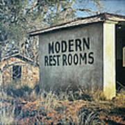Modern Restrooms Poster