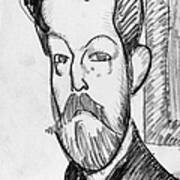 Modigliani - Paul Alexander Poster