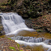 Mohican Falls In Spring Poster