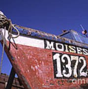 Moises The Fishing Boat Poster