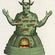 Moloch, The God Of The  Ammonites, An Poster