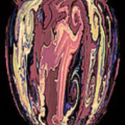 Mom's Venetian Glass Vase 16 Poster