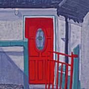 Monedarragh Back Door And Gate Poster