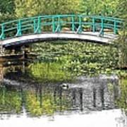 Monet Bridge Poster