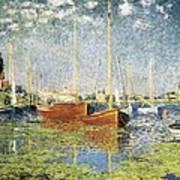 Monet, Claude 1840-1926. Argenteuil Poster by Everett