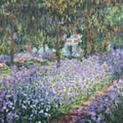 Monet, Claude 1840-1926. The Artists Poster