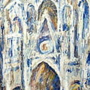Monet's Cathedral Poster