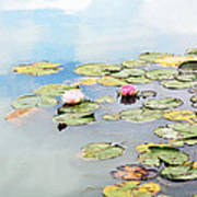 Monet's Garden Poster