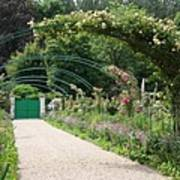 Monets Garden - Giverney - France Poster