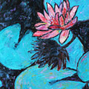 Monet's Lily Pond IIi Poster