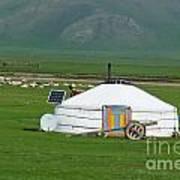 Mongolian Living Poster