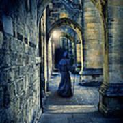 Monk In A Dark Corridor Poster