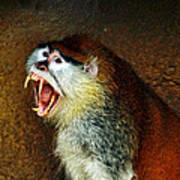 Monkey Fangs Poster