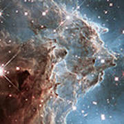 Monkey Head Nebula Poster