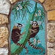 Monkey's Mosiac 02 Poster