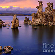 Mono Lake Afterglow Poster by Inge Johnsson