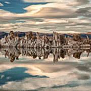 Mono Lake Reflections Poster