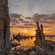 Mono Lake Sunrise Poster
