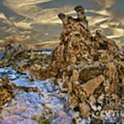 Mono Lake Tufa Reef Poster