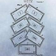 Monopoly Money Patent Poster