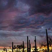 Monsoon Sunset Poster