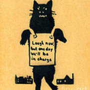 Monster Cat Poster