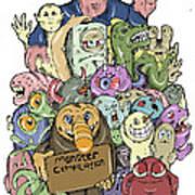 Monster Compilation Poster