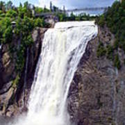 Mont Morency Falls Poster