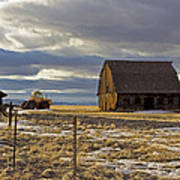 Montana Rural Scenery Poster by Dana Moyer