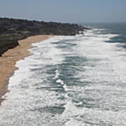 Montara State Beach Pacific Coast Highway California 5d22622 Poster by Wingsdomain Art and Photography