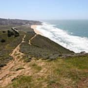 Montara State Beach Pacific Coast Highway California 5d22633 Poster