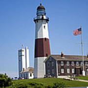 Montauk Lighthouse Long Island New York Poster