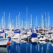 Monterey Bay Yacht Club 19704 Poster