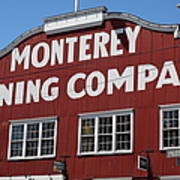 Monterey Cannery Row California 5d25039 Poster