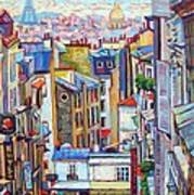 Montmartre View Poster