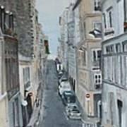 Montmartre Paris France Poster