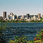 Montreal - Sur Le Fleuve  Poster
