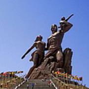 Monument De La Renaissance Africanne Poster