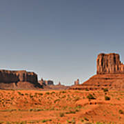 Monument Valley - Beauty Created By Nature Poster by Christine Till