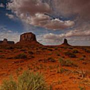 Monument Valley Desert Poster