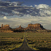 Monument Valley Panorama Poster