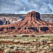 Monument Valley Ut 7 Poster